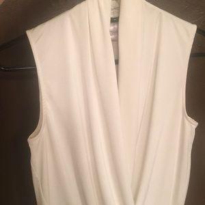 Tops - White Bodysuit